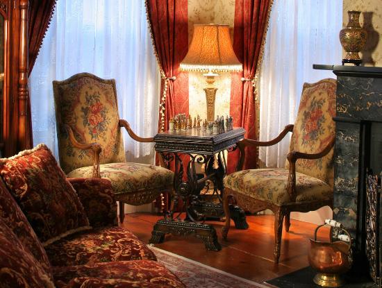 Trumansburg, นิวยอร์ก: Living room