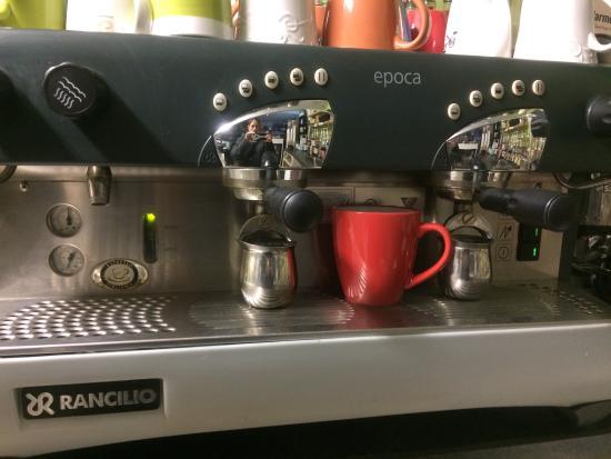 Green Elephant Cafe: Espresso anyone!