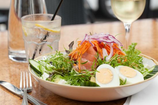 Twenty One: Smoked Salmon Salad