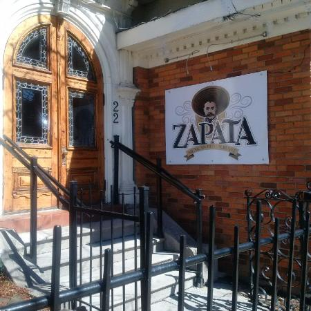 Entry Door Picture Of Zapata Restaurant St Catharines Tripadvisor