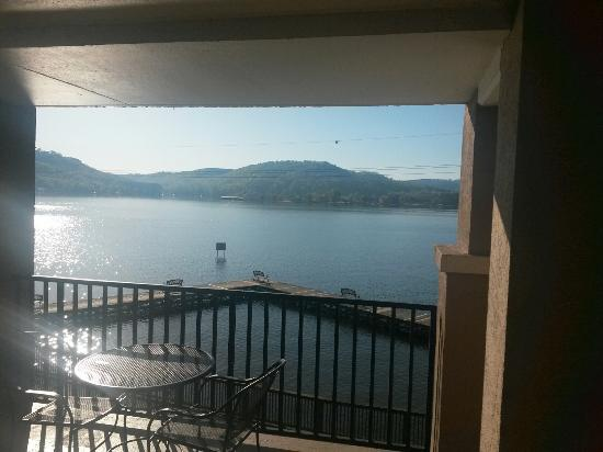 Wyndham Garden Lake Guntersville: View from room