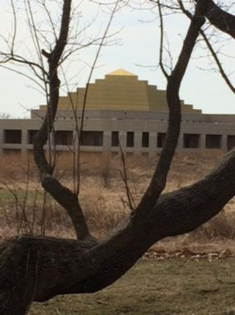 Chanhassen, MN: The Temple of ECK from the Contemplation Trails