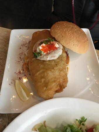 Let's Burger: The fish burger