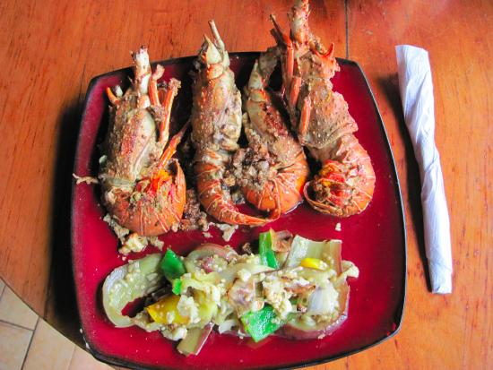 Cocosolo Lodge: :Langostino of my dreams