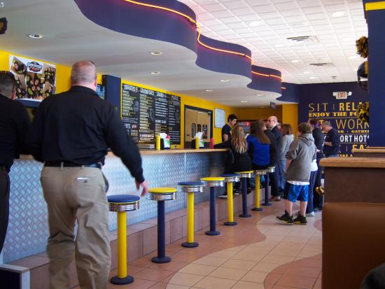 Spencerport, NY: Spenceport Hots lunch counter
