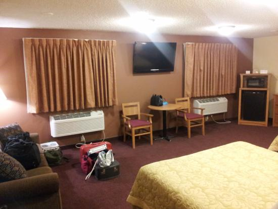Ogallala, NE: View of the room.