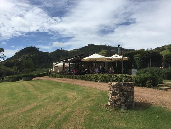 Waiheke Island, New Zealand: The winery
