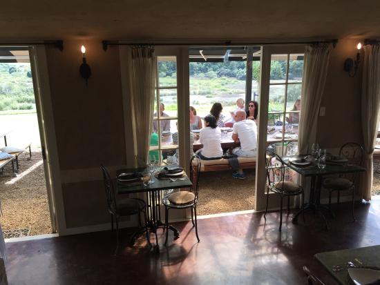 Waiheke Island, Nya Zeeland: The view from the dining room