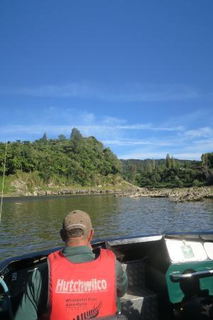 Pipiriki, Selandia Baru: Jetboating