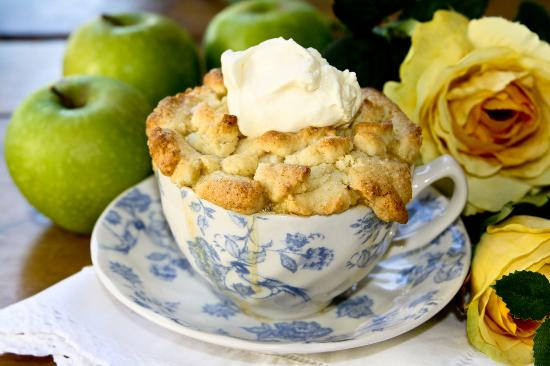 Shelly Beach, Sudáfrica: Our Apple Pie in a cup