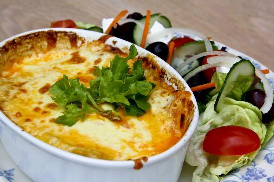 Shelly Beach, Güney Afrika: Lasagne & Salad