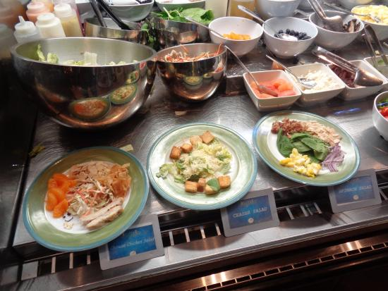 very good made to order salads picture of the buffet at ti las rh tripadvisor com