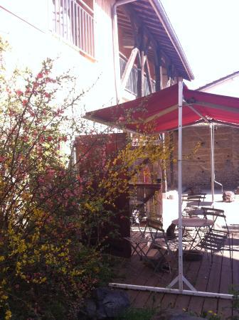 The Resid For Calixte: terrasse idéale pour le petit déjeuner