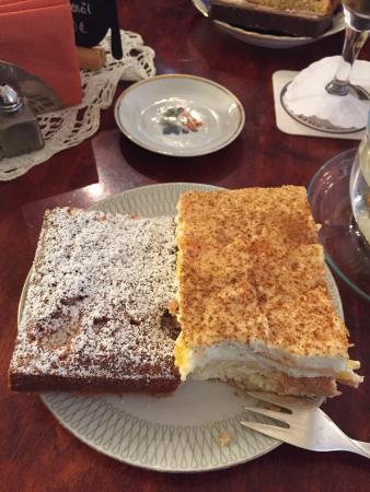 Anna´s Cafe: Eine kleine Auswahl der angebotenen Kuchen