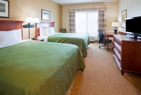 Country Inn & Suites By Carlson, Mankato Hotel and Conference Center: Guest Room 2 double beds