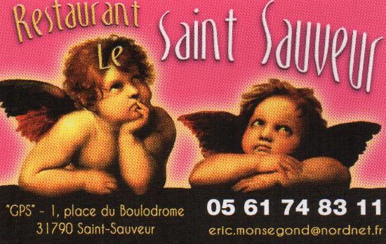 Saint-Sauveur, Francia: Carte de Visite.
