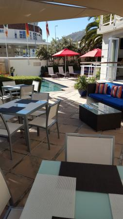 Bantry Bay Suite Hotel: Pool Area and Terrace