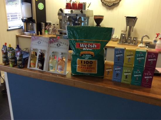 Ponterwyd, UK: Our Welsh tea products.