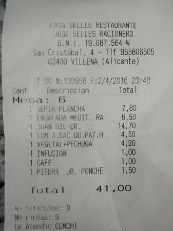 Restaurante Casa Selles