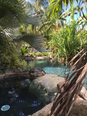 Saint Michael Parish, Barbados: The rock pool and jacuzzi.