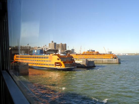 Staten Island Ferry: Departing from the St. George Terminal, Staten Island
