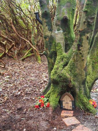 Achill Island, Ιρλανδία: Woodland Faerie Trail at The Valley House Achill