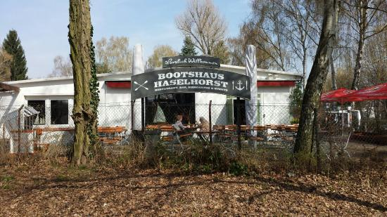 Bootshaus Haselhorst Berlin Spandau Bezirk Restaurant