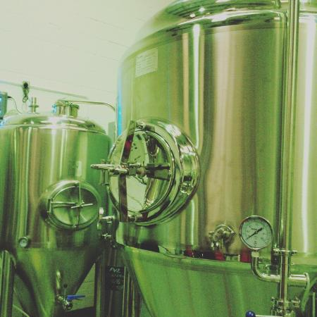 Bexley, UK: The brewing vessels