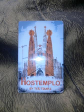 Hostal Hostemplo: carte accés hôtel