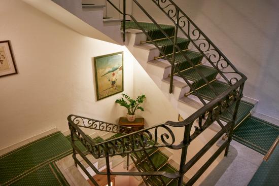 Hotel Steinbock: Treppenhaus