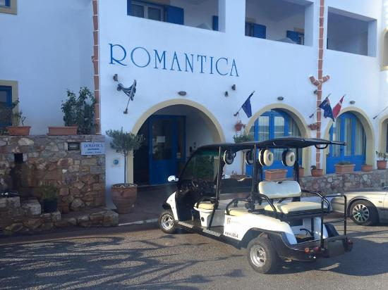 Romantica Hotel: new electric car for our clients to Agia Pelagia