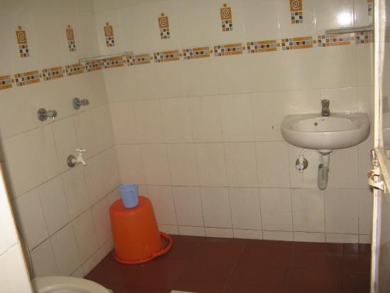 The Goan Corner : our attached bathroom