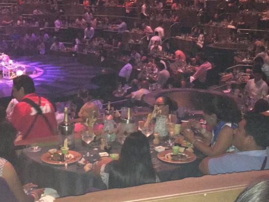 e6461e08223d Público al que incluye cena - Photo de Cirque du Soleil Joya