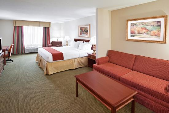Holiday Inn Express Hotel & Suites Franklin-Oil City: King Suite