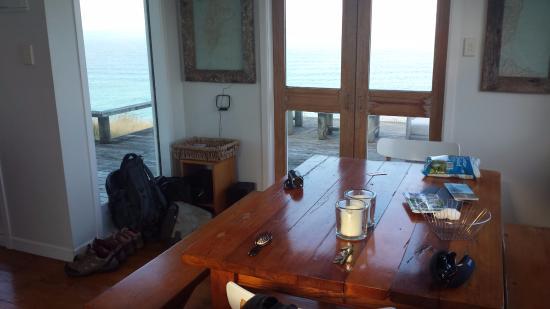 Mahia Beach, Nowa Zelandia: Keukentafel