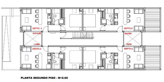 PLANO DE LA PLANTA DEL SEGUNDO PISO - Picture of Palafito Loft ...