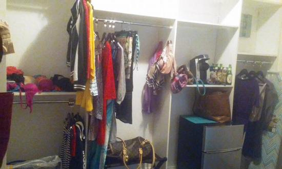 The Beacon Luxury Waterfront Inn: Best Closet Ever!