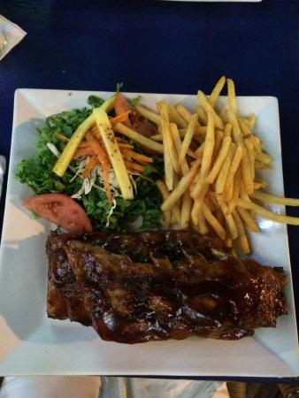 Drunken ribs - Photo de The Palms Restaurant, Baie de Simpson ...