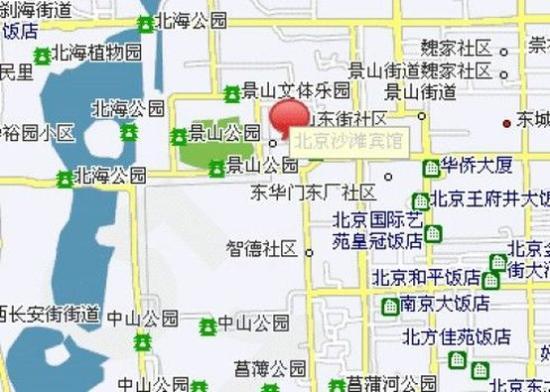 Shatan Hotel: Map