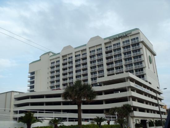 daytona beach resort with parking deck picture of. Black Bedroom Furniture Sets. Home Design Ideas