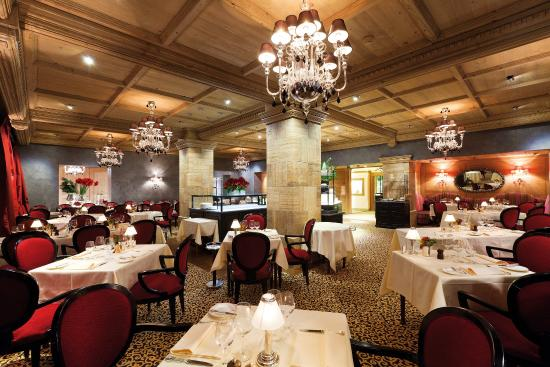 Gstaad Palace Hotel: Le Grand Restaurant
