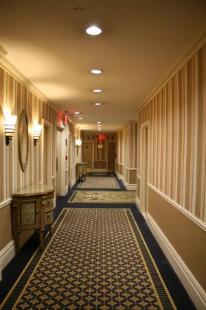 Wolcott Hotel: Le couloir du 11e étage.