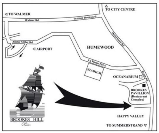 Brookes Hill Suites: Map