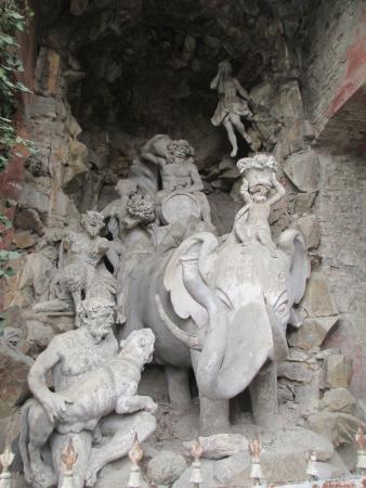 Battaglia Terme, Italia: Fontana dell'elefante