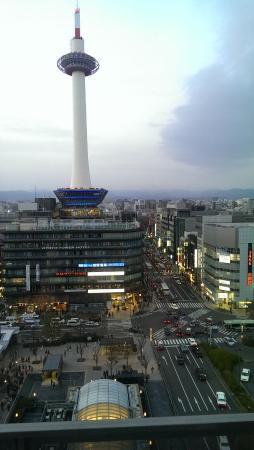 Hotel Granvia Kyoto: vista desde la habitación del 9° piso