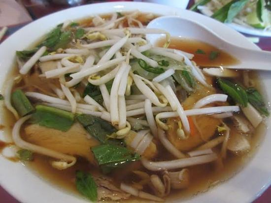 Chicken Rice Noodle Pho - Picture of Ox Head Restaurant