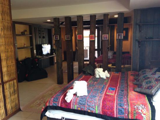 Amata Lanna Jangmuang: The room