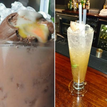 Balls Brothers - Mayfair Exchange: Comparison of Creme Egg Mojito promo picture vs actual product
