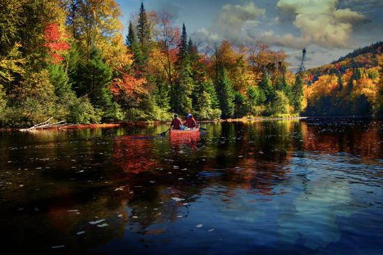 Saint-Raymond, Canadá: Canot sur la rivière Bras-du-Nord