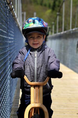 Saint-Raymond, Canadá: Du vélo pour toute la famille!